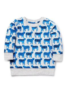 Baby Boys Tops & Tees | Tiger Yardage Sweater | Seed Heritage