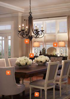 Housewife 2 Hostess : Dining Room Decor