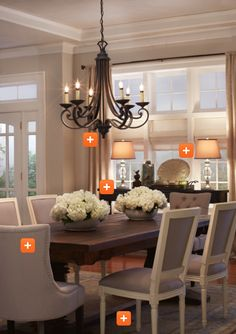 Housewife 2 Hostess : Dining Room Decor