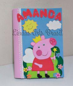 caderno decorado Peppa Pig Pesquisa Google