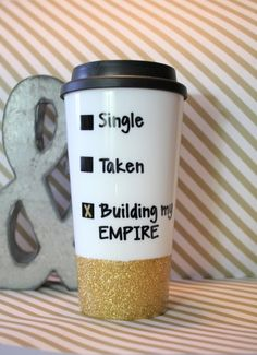 Funny Coffee Mug Tumbler Plastic To Go Cup Gl The Tipsy Bride By Savannah Elyse Pinterest And