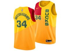 6e3232406 Milwaukee Bucks GIANNIS ANTETOKOUNMPO Nike 2018 NBA Men s City Swingman  Jersey Nike Nba Jerseys