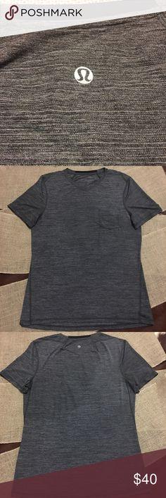 ✨LULULEMON MEN SHIRT W POCKET✨ In great condition! lululemon athletica Shirts Tees - Short Sleeve