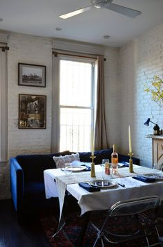 Living Home And Design 50 Small Dining Room Design Ideas Apartment , When selecting a table, you sho Small Room Design, Dining Room Design, Dining Area, Dining Rooms, Small Space Living, Small Spaces, Living Spaces, Small Dining Sets, Studio Apartment Decorating