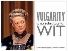 Quotable Quips by the Dowager of Downton Abbey (Season 3) Printables and Party Ideas! Found on tatertotsandjello.com