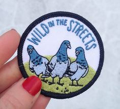 Wild In The Streets Patch by FrogandToadPress on Etsy