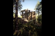 Triangle house - Triangle House, Cabin, Architecture, House Styles, Plants, Scale, Decor, Arquitetura, Weighing Scale