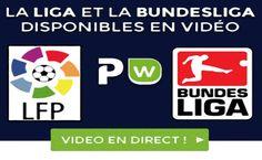 Suivez vos matchs en direct et placez vos paris en live grâce à Parionsweb live. Des matchs de foot, de rugby, de basket... en vidéo live grâce aux