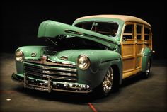 2013 Grand Marshal Awards: Pictured is a 1946 Ford Woody Wagon in Green. Check out more pictures! Visit Facebook.com/TheDriveWithAlanTaylor