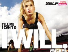 Tell Me I Can't & I Will. Watch Me. SELF 14-Day Slimdown. #14in14