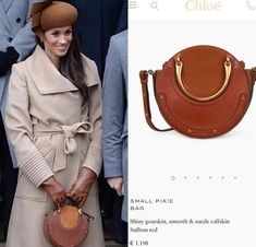 CHLOÉ - Pixie Small leather and suede shoulder bag - $1,550 - mytheresa.com