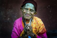 Jubilation! - In my recent trip to Nepal, we visited an elderly care facility (retirement/nursing home), to our delight we came across this four feet tall old lady that was full of joy and energy. She had this strong affinity to be in all the photos. In fact she would push away anyone else that wanted to be in the frame. Such moments definitely left me with distinct memories of Nepal. Fujifilm X-Pro2 with Fuji 56mm f1.2