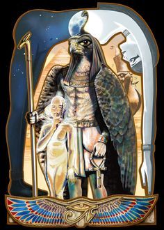 Horus by *JaniceDuke on deviantART