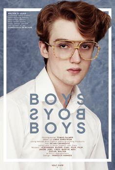 BOYS BOYS BOYS | Beauty Editorial on www.voltcafe.com http://www.voltcafe.com/blog/boys-boys-boys