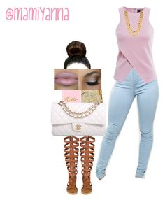 """""""✨Queen Yanna✨"""" by mamiyanna ❤ liked on Polyvore featuring AX Paris, Michael Kors, Casetify and Chanel"""