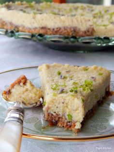 Pepi's kitchen: Τσίζκεικ με λεβάντα, λεμόνι και ξηρούς καρπούς