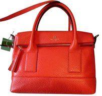 Kate Spade Leather Gold Hardware Cross Body Bag