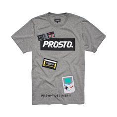 Koszulka 80'S MEDIUM HEATHER GREY Koszulka wykonana z najlepszej jakości bawełny. Z przodu koszulki grafika.