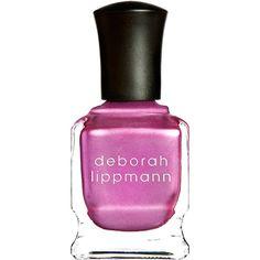 Deborah Lippmann Women's 12th Street Rag Nail Polish (€13) ❤ liked on Polyvore featuring beauty products, nail care, nail polish, dark pink, deborah lippmann nail polish, deborah lippmann nail color, deborah lippmann nail lacquer and deborah lippmann