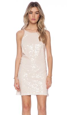 White sequin dress - the perfect dress for your bachelorette party!