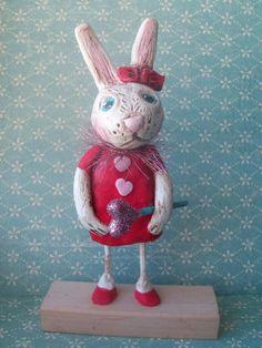 clay bunny
