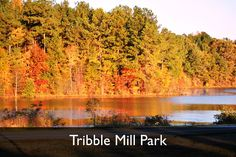 Tribble Mill Park, Lawrenceville, Georgia www.gwinnettparks.com