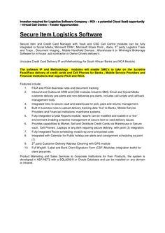 rcm-the-securedeliverysolution by Ram Card Manager (Pty) Ltd. via Slideshare