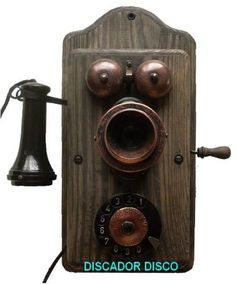 Telefone Antigo Junior - Artesanal - R$ 400,00 no MercadoLivre