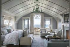 Love the ceiling and the inset look of the side windows.