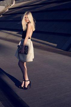 Tuula - skirt shape + leotardish top
