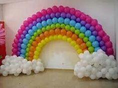 Globos arcoiris