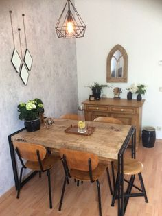 New Dining Space - industrial