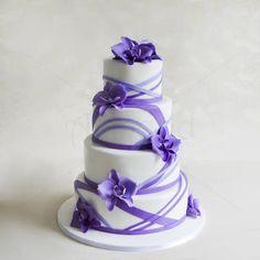 Tort Orhidee Mov-Lila Cake, Desserts, Food, Tailgate Desserts, Deserts, Food Cakes, Eten, Cakes, Postres