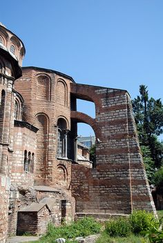 Kariye Museum (The Chora Church), Istanbul, TURKEY.     (by Ted Drake, via Flickr)