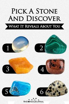 Pick A Stone And Discover What It Reveals About You. Take a moment to look at the six stones you see. Without thinking too hard about it Test Your Personality, True Colors Personality, Fun Personality Quizzes, Personality Psychology, Leadership Games, Fun Quizzes, Random Quizzes, Online Quizzes, Psychology Facts