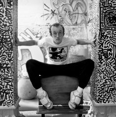 """I don't think art is propaganda; it should be something that liberates the soul, provokes the imagination and encourages people to go further. It celebrates humanity instead of manipulating it."" ~ Keith Haring"