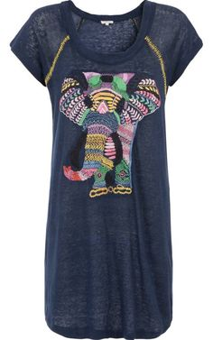Elephant Design Dress - Manoush