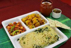 Ribbon's to Pasta's: Methi Mattar wara Chawaran / Fenugreek, Peas Pulao