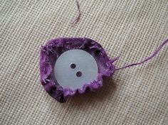 Fabric button tutorial