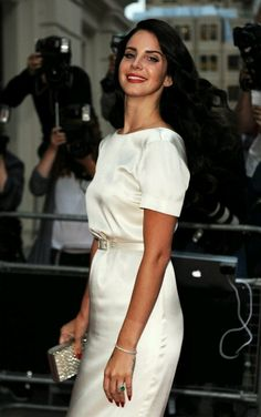 Lana Del Rey at the 2012 GQ Men of the Year Awards.