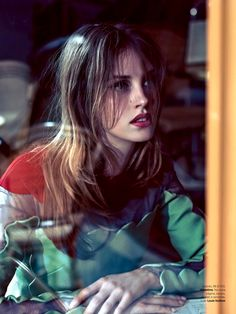 Julia Frauche for Vogue Brasil October 2013