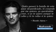 Frases De Ricardo Arjona La Felicidad Es Algo Que No Se Puede