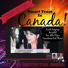 June 6 - Xabelina Vargas joined The Smart Team on a hangout and we shared about the coming up Fire Side Mastermind Event we are holding in Penticton, BC this June 22! Yes it's the same weekend as the Peach City Beach Cruise! Double the fun!!! If you'd like to come email me at tammie@thesmarteam.ca. We'll see you there!