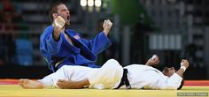 Judoka Travis Stevens Wins Team USA's First-Ever Olympic Medal In His Weight…