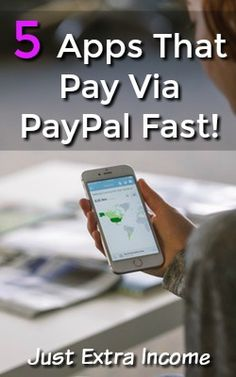 I love making money with apps and it's even better when they pay fast! Here're 5 apps you can use to make money that pay via PayPal fast!