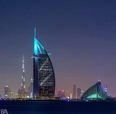 burj al arab hotel #Dubai #UAE