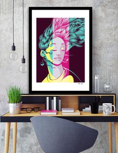 Discover «Girl», Limited Edition Fine Art Print by Daniele Odierna - From 27€ - Curioos