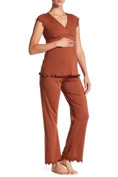 Genna Maternity/Nursing Pajama Set (Maternity)