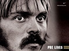 Steve Prefontaine Poster// /'The one who wins wants to win the most/' 17x22
