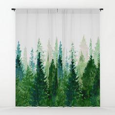 Pine Trees 2 Window